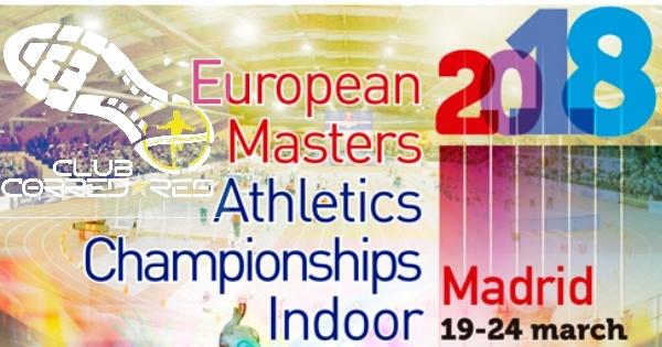 Club Corredores en el Campeonato de Europa Máster