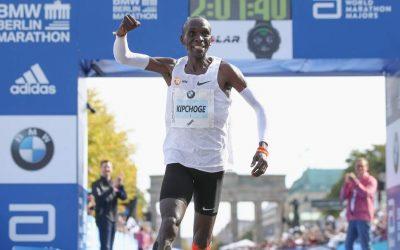 Nuevo Récord del mundo de Maratón en Berlín: Eliud Kipchoge