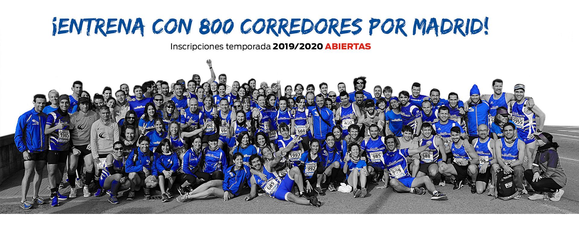 Home CLUB CORREDORES 2020