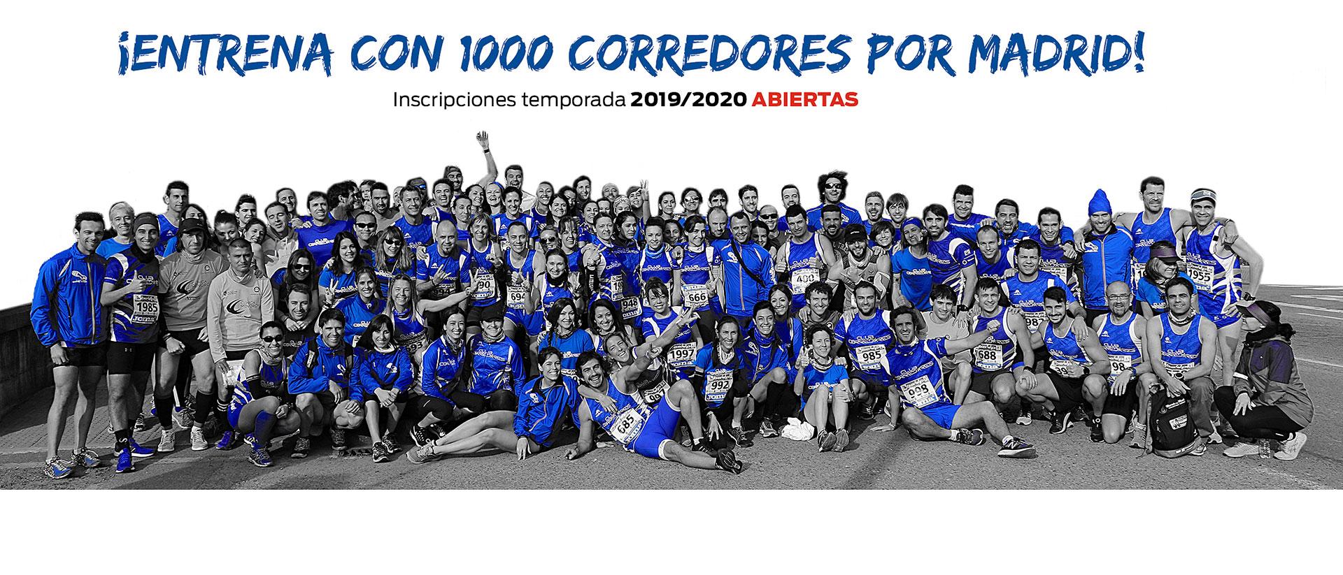 Entrenamientos club corredores 2019-2020