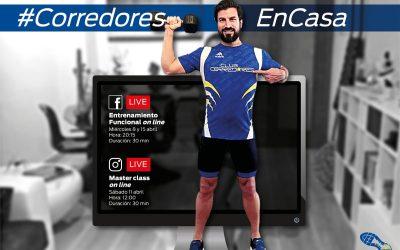#CorredoresEnCasa
