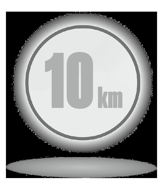 Botón modalidad 10km entrenador personal