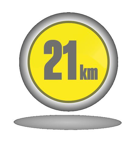 Botón modalidad 21km entrenador personal