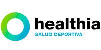 logo healthia partner fisio Alcobendas club corredores