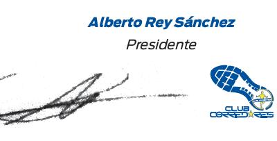 Carta de bienvenida: Alberto Rey