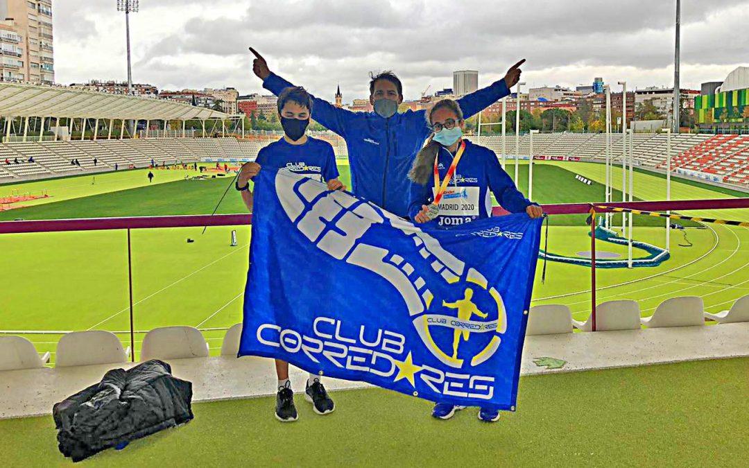 Lucia Robledo es medalla de plata en el campeonato de España sub14 de atletismo.